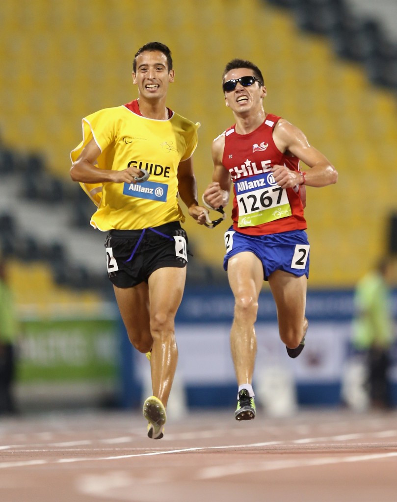 Cristian Valenzuela has been named as the best Chilean Para-athlete of the year in athletics ©Getty Images